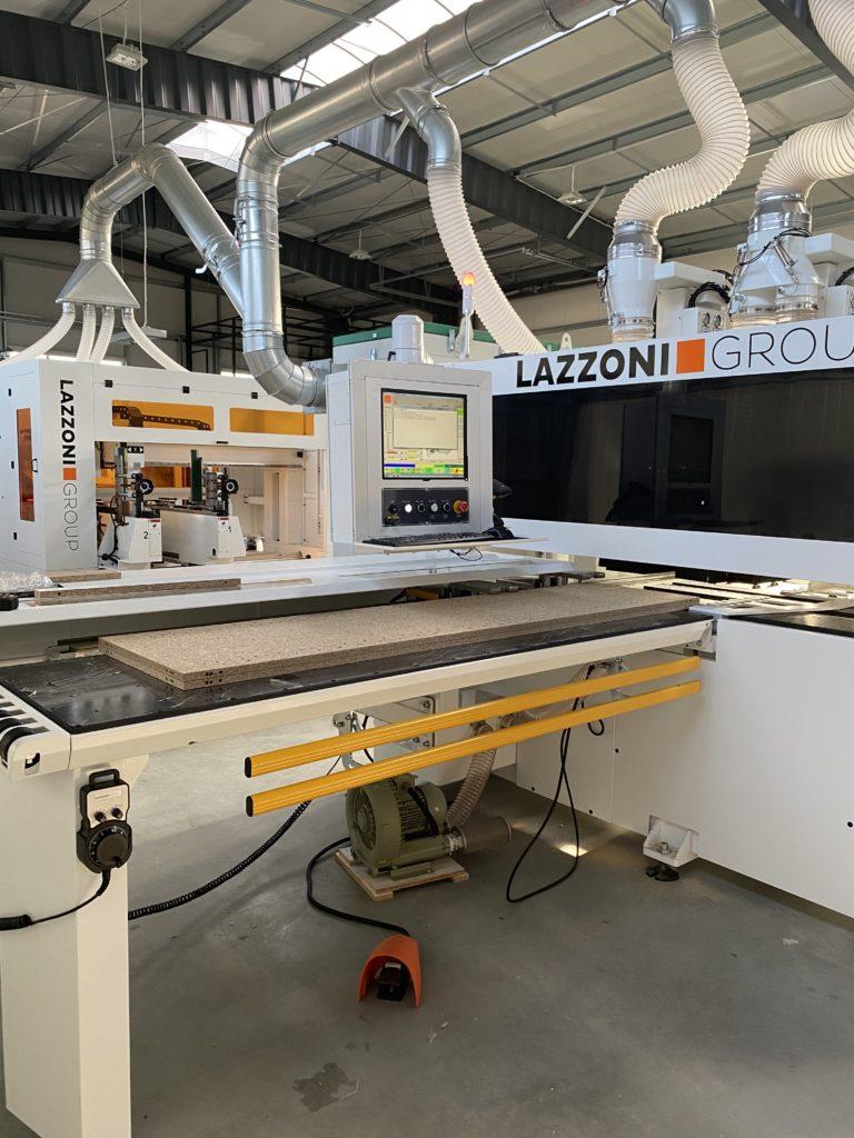 Centrum wiertarskie Master 6X CNC podczas pracy
